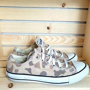 Converse Unisex Camo Print Low Sneakers Shoes